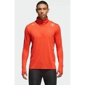 Adidas Boston Marathon 2018 Supernova Zip Shirt